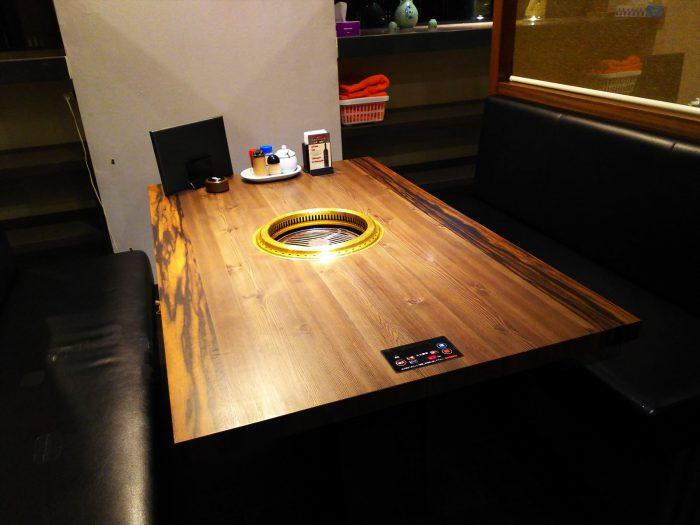 テーブル席(ソファー)
